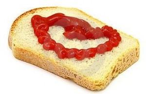 catsup sandwich