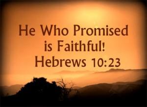 sign god is faithful