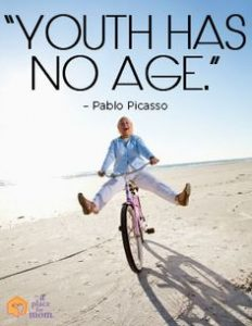 sign youth has no age